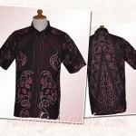 Hem batik untuk suami Ibu Siti R di Surabaya (made to order) part#2