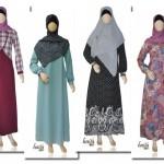 Koleksi gamis muslimah Haifa terbaru di toko online haifagallery.com