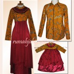 custom made : sarimbit batik keluarga Ibu Andes di Surabaya