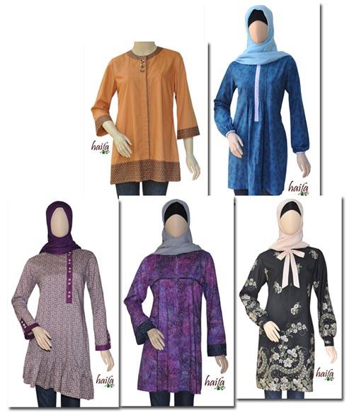 busana muslim model terbaru