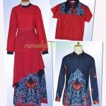 yes…another order jahit sarimbit batik yang cantik dan gantengin ^_^….#keluarga Ibu Indri di JakBar