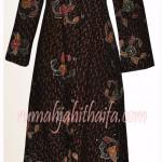 4 gamis batik order dari Ibu Yuyun S di Samarinda