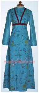 Gamis Batik Ibu Yuyun S 3