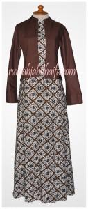 gamis batik bolero Ibu Listya 2