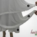 detail produk gamis haifa – untuk jilbab lebar