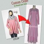Custom size dan model produk busana Haifa, bisa ! ^_^