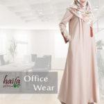 2.5 m x 1.5 m adalah minimal ukuran kain untuk gamis Haifa