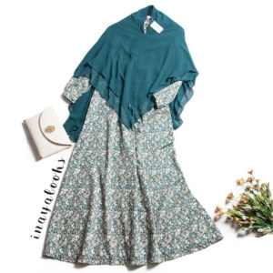 dress inayalooks azalea in green