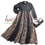 Contoh gamis batik haifa pre order kemarin ^^