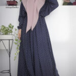 Mengenal long dress atau gamis model batwing